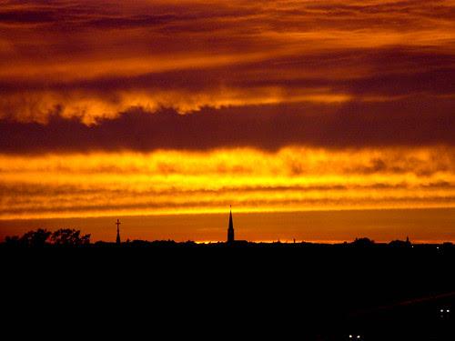 Liljeholmen sunset