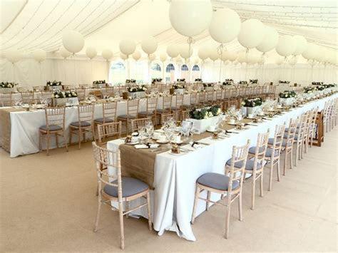 My Wedding!! Marquee, Trestle Tables    My wishlist in