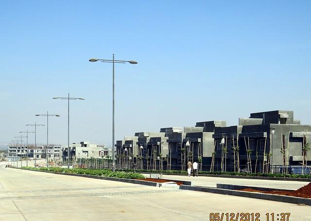 6 Lane Concrete Road & 2nd Avenue - Development in the 1st Year - Kolte-Patil Life Republic Marunji, Hinjewadi - Kasarsai Road, Pune 411057