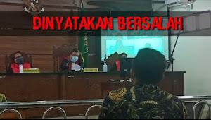 Video Ketua SPI Tebo Divonis 4 Tahun 6 Bulan Penjara