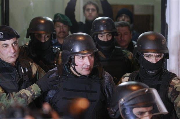 José López fue trasladado a Moreno en medio de un fuerte operativo de seguridad