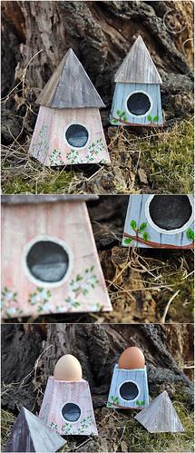Egg Holding Houses