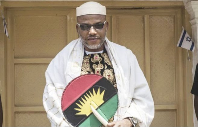 Nnamdi Kanu Didn't Escape to UK as Claimed by Orji Uzor Kalu - IPOB Reveals