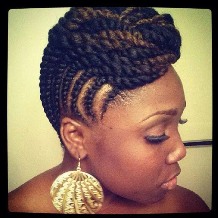 afro natural hair braids cane rolls (8)