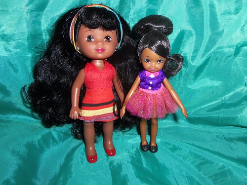 Mini Kenya and Zahara by Black Doll Enthusiast