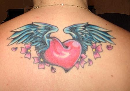cute angel tattoo girl picture gallery 2 cute angel tattoo girl picture