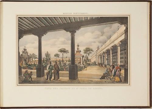 Vista del Panteon de Sa. Paola en Mejico