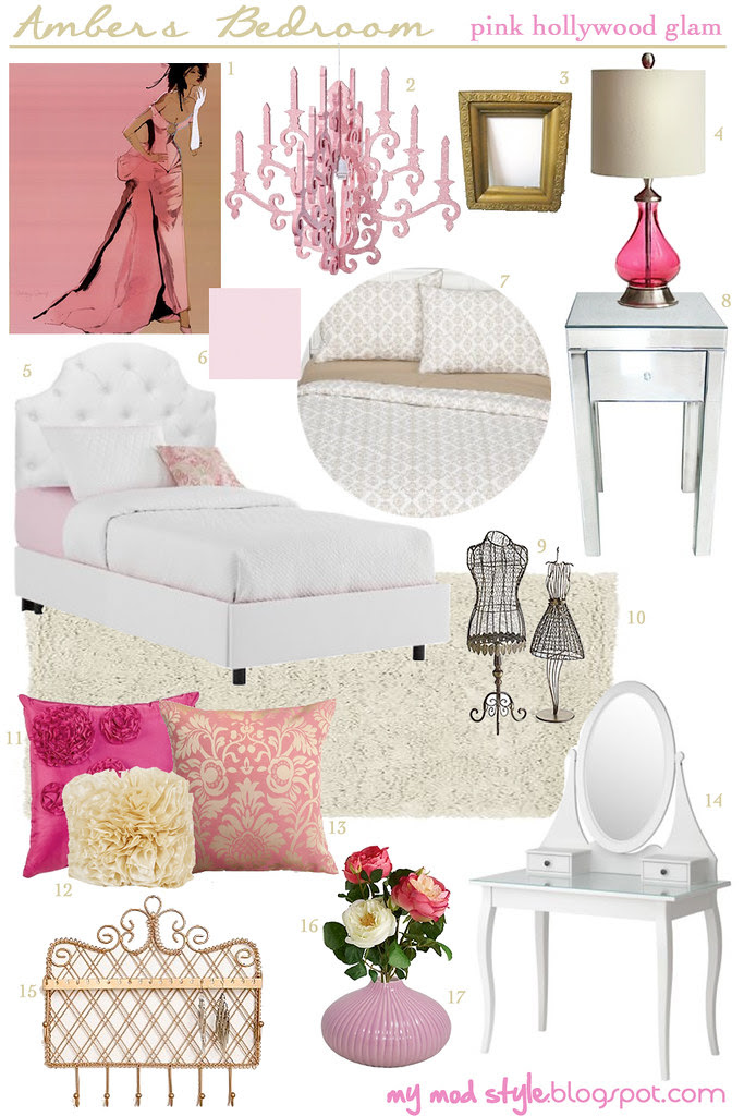 design board ambers bedroom1