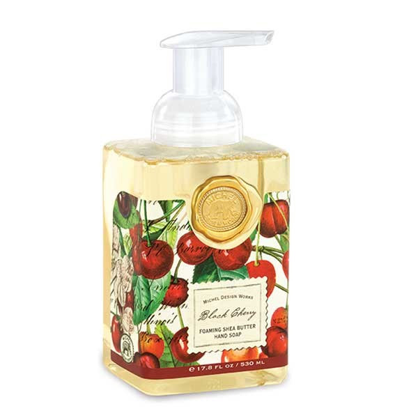 Michel Design Works Foaming Soap Black Cherry Wish Kitchen And Gift
