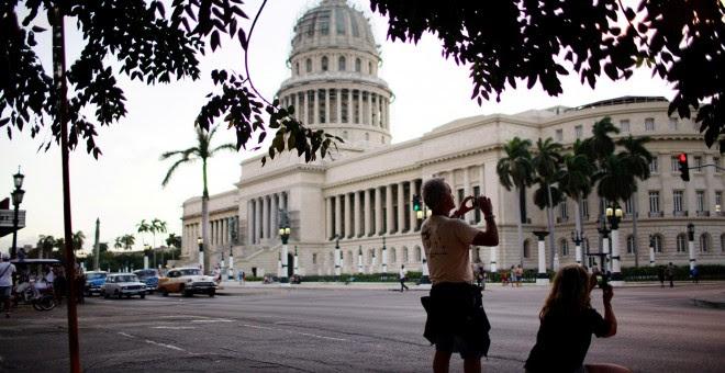 Capitolio de La Havana, Cuba. REUTERS/Alexandre Meneghini