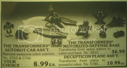ad with omega supreme and other toys