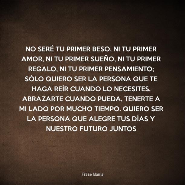 Cartel Para No Sere Tu Primer Beso Ni Tu Primer Amor Ni Tu Primer