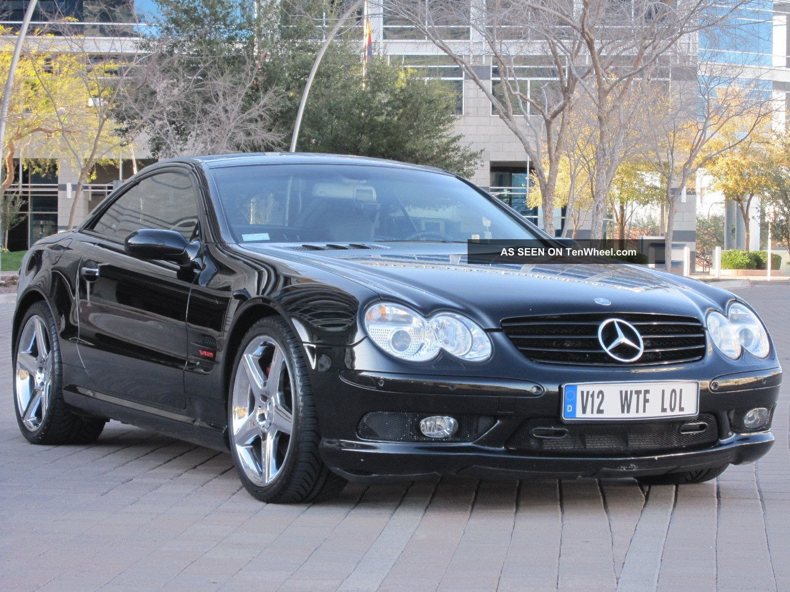 2004 Mercedes Benz Sl600 With - Black - Faster Then Sl55 ...