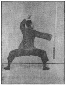 《昆吾劍譜》 李凌霄 (1935) - posture 76