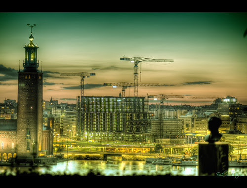 Greetings from Stockholm HDR