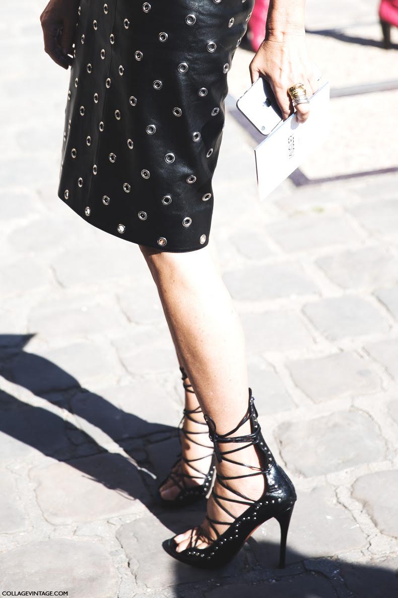 Paris_Fashion_Week_Spring_Summer_15-PFW-Street_Style-Carine_Roitfeld-Lace_Up_Sandals-
