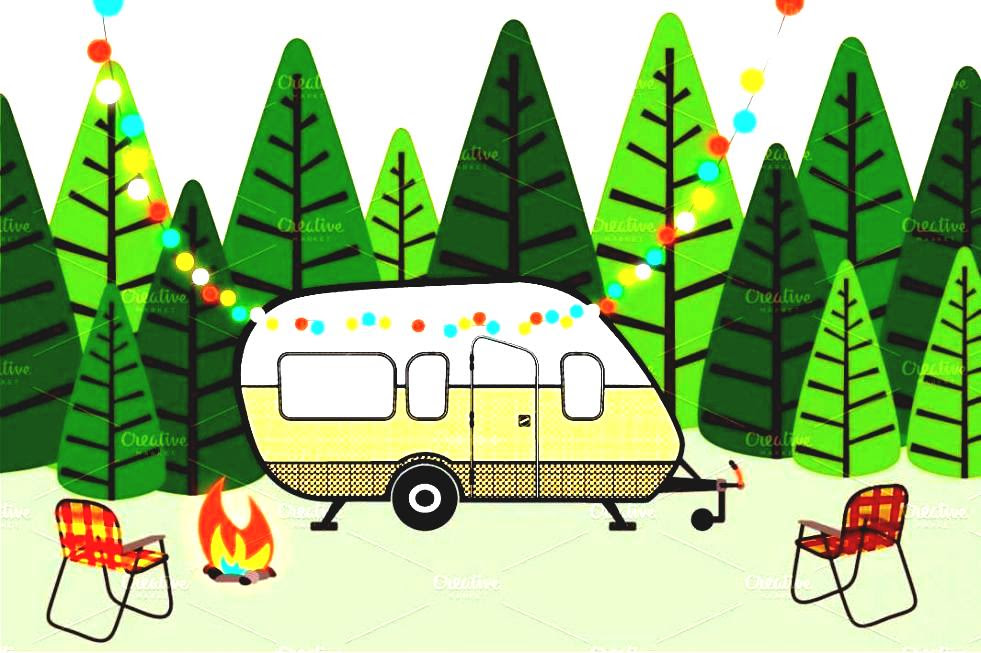Campsite Clipart | Free download on ClipArtMag