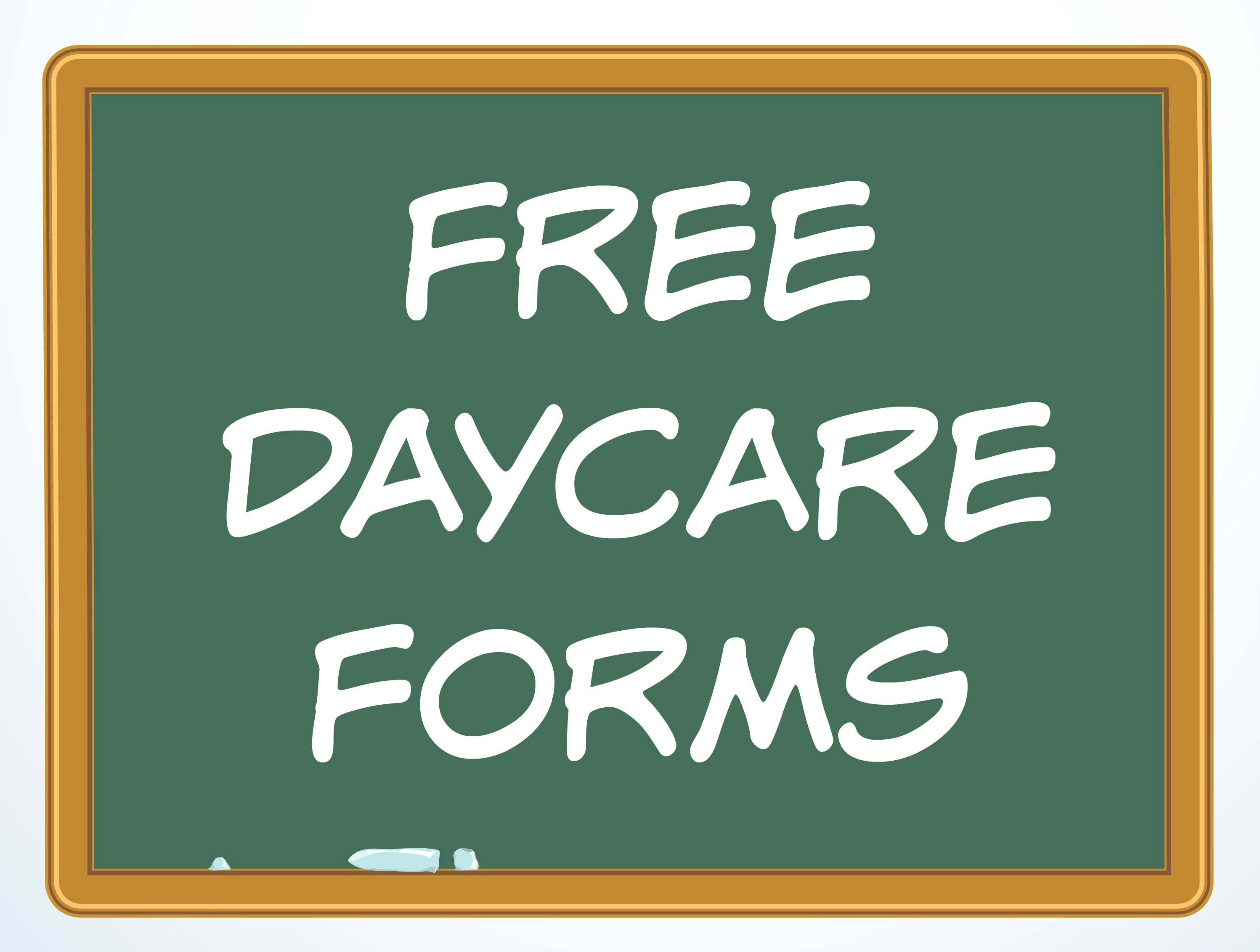 xfree daycare forms