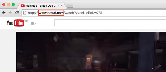 Substitua youtube por deturl (Foto: Reprodução/Paulo Alves)