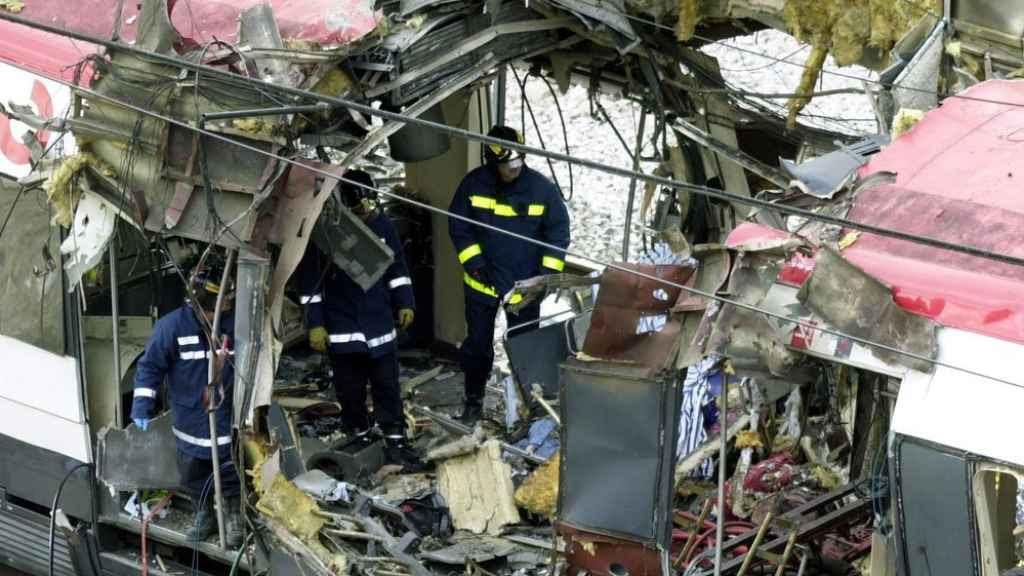Imagen de los atentados del 11 de marzo.