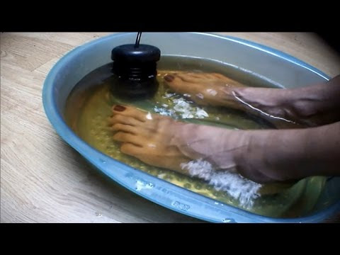 Put Your Feet In These Natural Baths To Eradicate All Toxins From The Body [video]