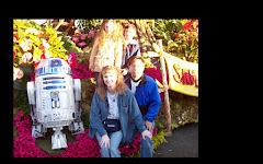 R2-D2 on LucasFilm float