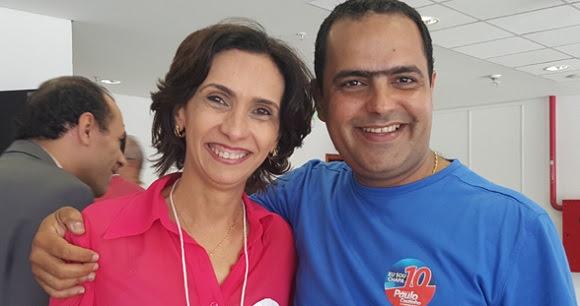Magna Letícia e Paulo Coutinho