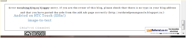 Fake website faking Outdated Penang Uncle blogspot dot com