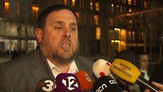 El vicepresident de la Generalitat, Oriol Junqueras, aquest dimecres a Tarragona