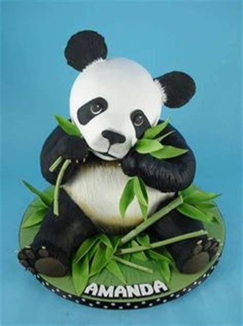 1000  images about Panda cake on Pinterest   Panda cakes