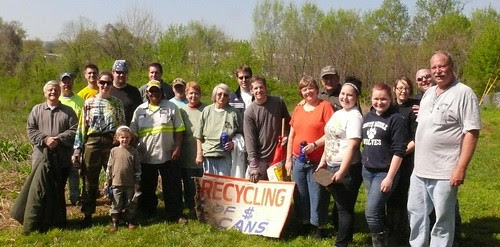 4th annual Confluence Trash Bash 3-24-12