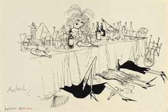 'Old Girl's Dinner'