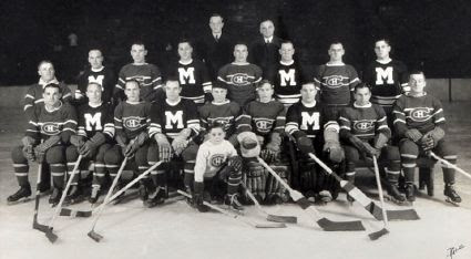 Maroons and Canadiens Morenz benefit game