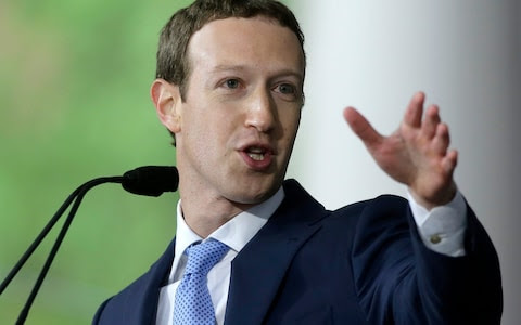 """Facebook CEO Mark Zuckerberg said watching a show """"can be a chance to share an experience"""""""
