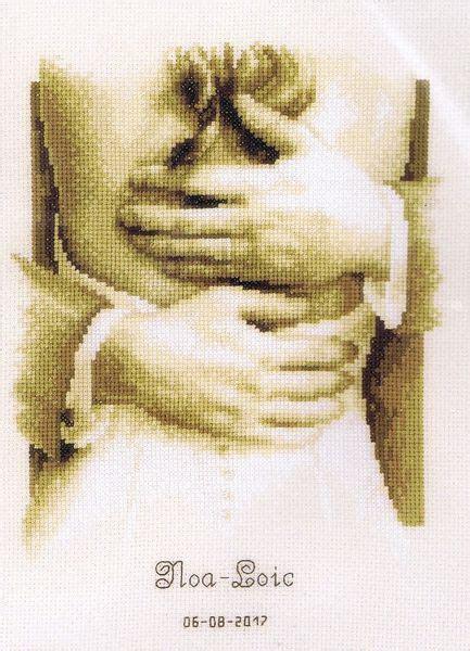 Wedding Record : Newlyweds   cross stitch kit by Vervaco