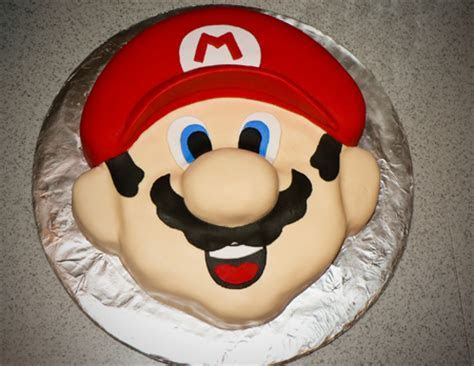 Mario birthday Cakes and cupcakes   Ashlee Marie   real