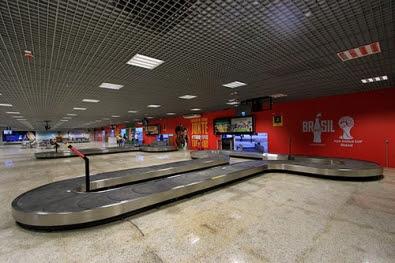 Obras do aeroporto Marechal Rondon são retomadas e devem ser concluídas em até 1 ano