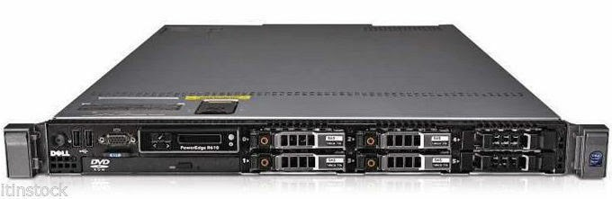 Dell PowerEdge R510 Server 2x X5550 2.66GHz 4-Core 32GB RAM H700 2PS