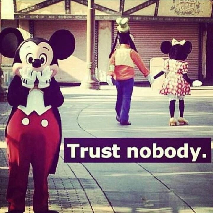Cant Trust No One Quote Quote Number 604051 Picture Quotes