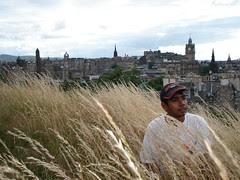 Di puncak Calton Hill, Edinburgh, Scotland, United Kingdom
