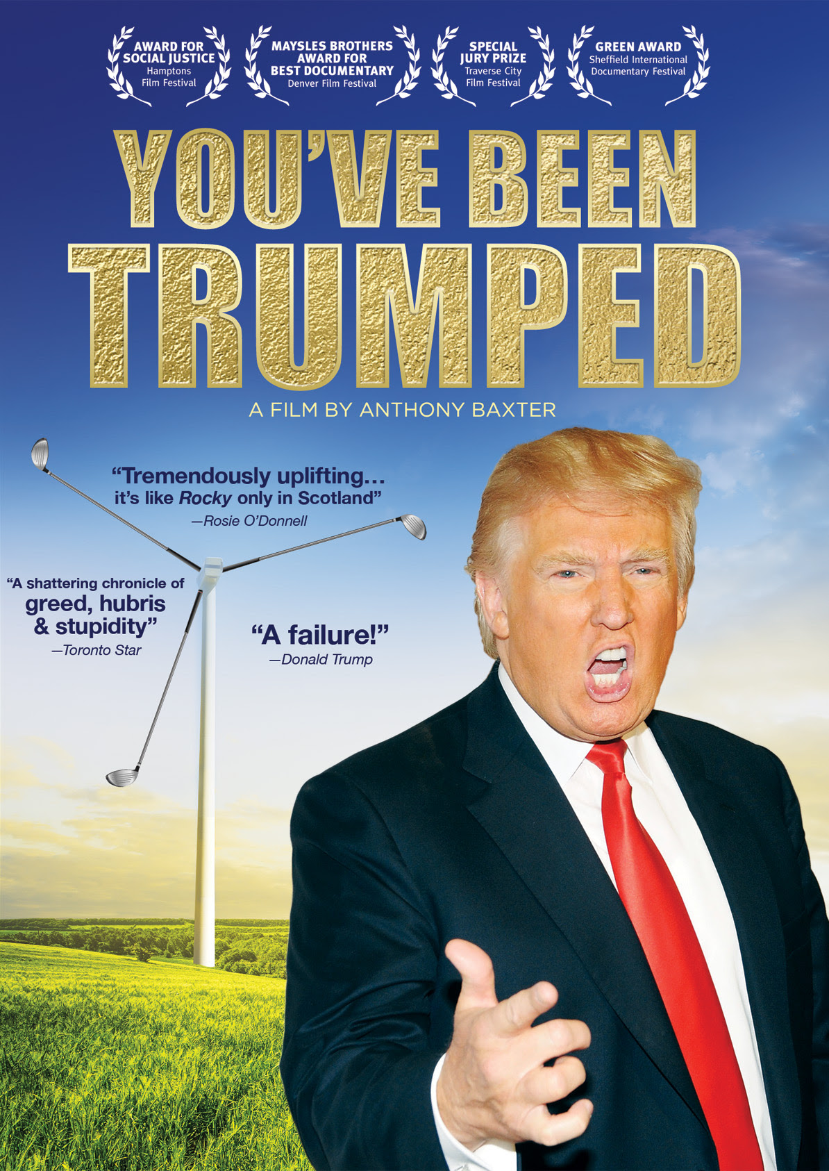 """Image result for """"You've Been Trumped"""""""