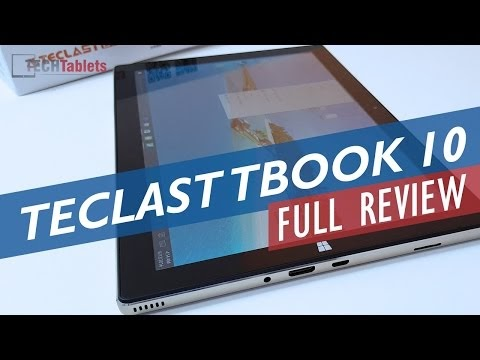 Why I like Chinese tablets - Teclast Tbook 10 Android and Windows 10tablet