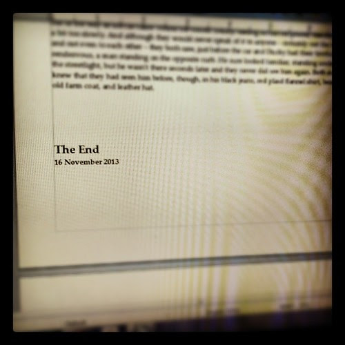 The first draft of GhostCop (not the actual title) is done! #AmWriting #NaNoWriMo