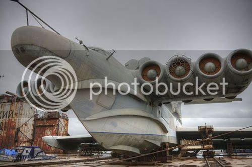 Ekranoplan Soviético