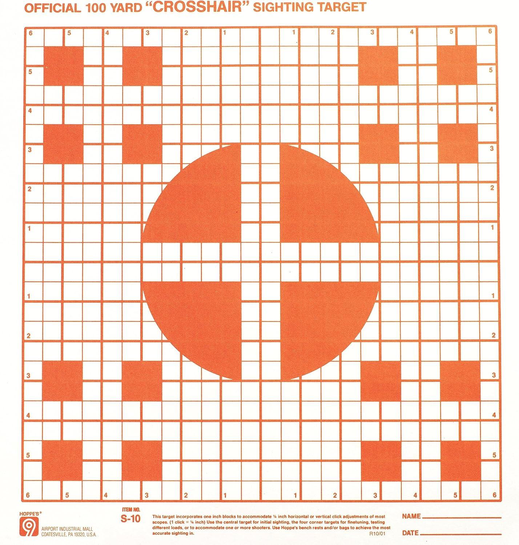 Yard Rifle Target