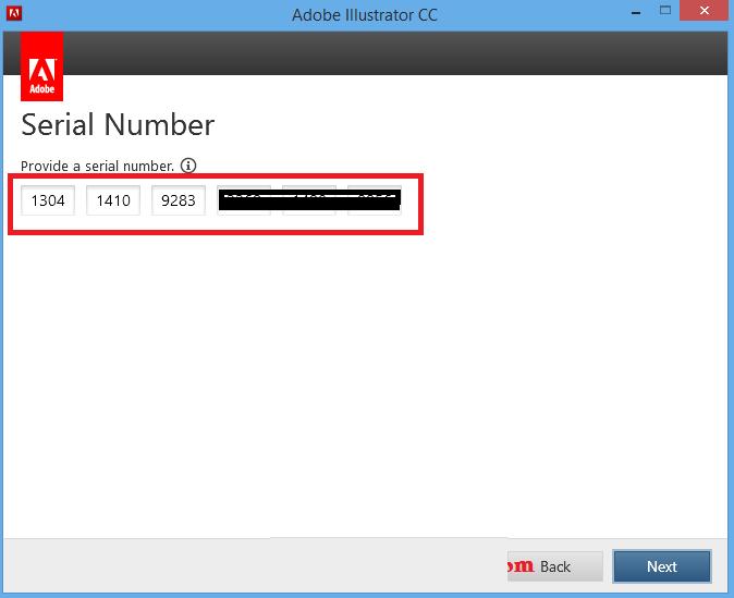 Adobe lightroom 6.0 serial number