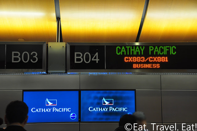 Cathay Pacific Check In @ TBIT, LAX