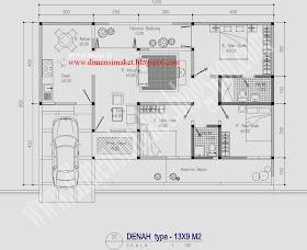Sketsa Rumah Tinggal
