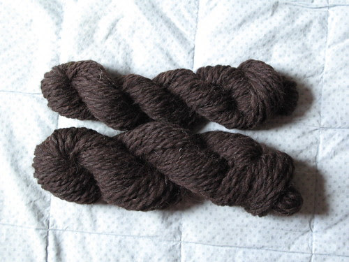 Brown Bulky wool