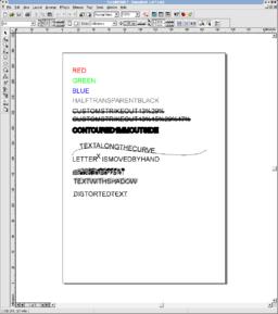 fancytext_cdr7.cdr in CorelDraw 7